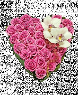 Букет «Любящее сердце»
